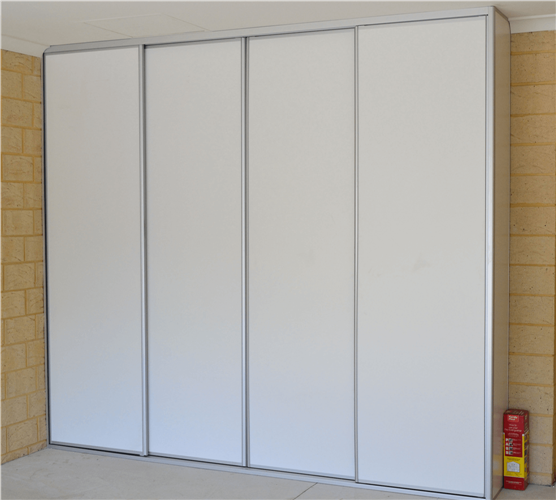 Four Standard Sliding Wardrobe Doors -  Full Panel Design
