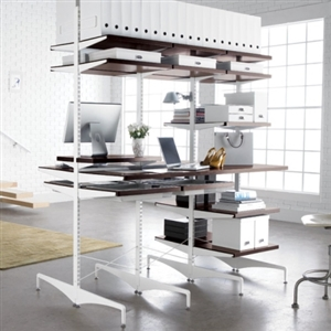elfa Double Sidded Freestanding Storage Solution