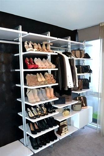 elite Modular Wardrobe Featuring Shoe Shelving